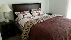 Upscale furnished suite for lease from 1st Aug- 2 BED+DEN+2 BATH
