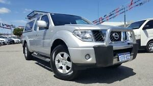2013 Nissan Navara D40 Series 4 ST-X (4x4) Silver 6 Speed Manual Dual Cab Pick-up Maddington Gosnells Area Preview