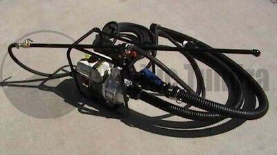 Asphalt Sealcoating Spray System Kit - 5 Wand - Hose - 6.5 Hp Industrial Pump
