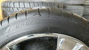 245/45 R20 ONE RIM WITH TIRE