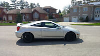2002 Toyota Celica Coupe (2 door) - Excellent condition + Extras