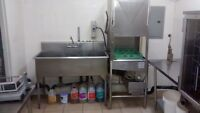 commercial kitchen fully loaded ,for rent