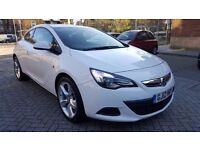 Vauxhall Astra GTC sport 1.4 turbo 16v petrol manual 6 speed full servis history hpi clear px welcm