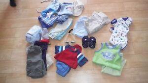lot de vêtements garçon printemps/éte taille 12 mois