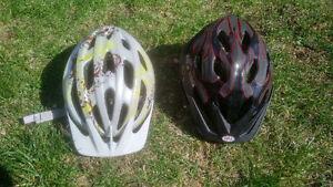 2x Bike Helmets - Bell Blade, Giro Venus