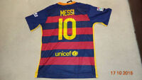 Messi Barcelona Home Soccer Jersey 15/16 current season