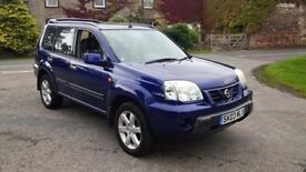 2003 nissan x trail sport 2.2di diesel 6 speed manual FOR REPAIR WITH PARTS