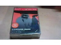 A CLOCKWORK ORANGE-READ BY PHIL DANIELS-4 x CASSETTE TAPE EDITION.
