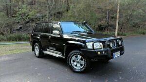 2013 Nissan Patrol Y61 GU 8 ST Black Automatic Wagon Springwood Logan Area Preview