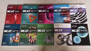 MCAT Kaplan Complete Set - Newest Edition, Brand New