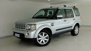 2012 Land Rover Discovery 4 Series 4 MY12 TdV6 CommandShift Silver 6 Speed Sports Automatic Wagon Hobart CBD Hobart City Preview