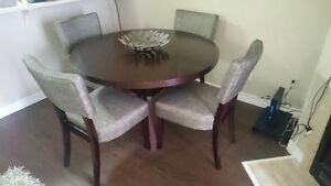 "5 Piece Dining Set (48"" Diameter) – Great Condition Kingston Kingston Area image 1"