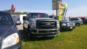 2011 FORD F250 SUPER CREW 4X4  8 FOOT BOX RUNS WELL