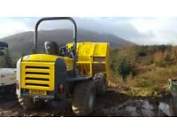 WACKER NEUSON 9001 9T FORWARD TIPPING DUMPER
