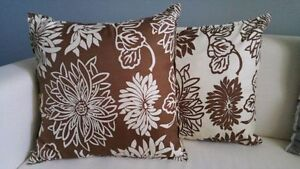 Like-New! Flower Accent Pillows Kitchener / Waterloo Kitchener Area image 1