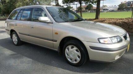1998 Mazda 626 Classic Champagne 5 Speed Manual Wagon Granville Parramatta Area Preview
