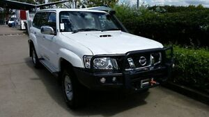 2015 Nissan Patrol Y61 GU 9 ST Polar White 5 Speed Manual Wagon Acacia Ridge Brisbane South West Preview