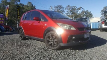 2006 Mitsubishi Colt RG MY06 Upgrade Ralliart Red 5 Speed Manual Hatchback Kingston Logan Area Preview