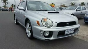 2001 Subaru Impreza S MY02 WRX AWD Silver 5 Speed Manual Sedan