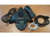 Polycom SoundStation 2 LCD Audio Conference phone. Excellent condition. Confirmed working.