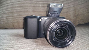 Sony Alpha NEX-3 HD camera