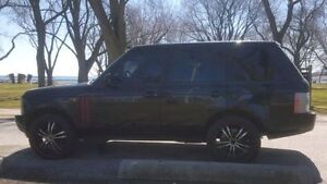 2004 Range Rover 4.4 HSE - Black with 22 inch Wheels