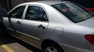 2006 Toyota Corolla Silver well maintained