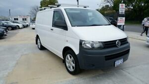 2013 Volkswagen Transporter T5 MY13 TDI250 SWB White 5 Speed Manual Van St James Victoria Park Area Preview