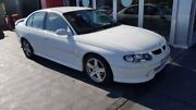 2001 Holden Commodore VX SS White 4 Speed Automatic Sedan Taylors Beach Port Stephens Area Preview
