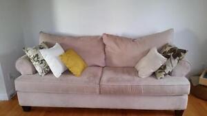 URGENT !!! Sofa 3 places en microsuède PAS CHER