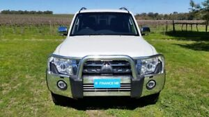 2012 Mitsubishi Pajero NW MY12 Platinum White 5 Speed Sports Automatic Wagon