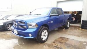 2016 Dodge Ram 1500 Sport 5.7L 4x4 Lifted Low KM Mint