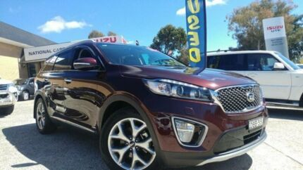 2015 Kia Sorento UM MY16 Platinum (4x4) Brown 6 Speed Automatic Wagon