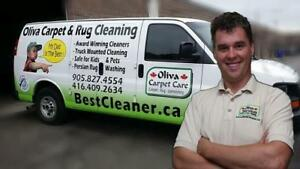 All Natural Carpet Cleaning in Oakville