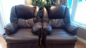 Leather Powered Recliners