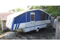 Riva Dandy Destiny 6 berth trailer tent 2003 with toilet and fridge.