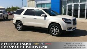 2015 GMC Acadia SLT Leather Quad buckets AWD