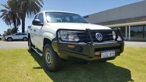 2012 Volkswagen Amarok 2H MY12.5 TDI400 (4x4) Candy White 6 Speed Manual Dual Cab Utility Maddington Gosnells Area Preview