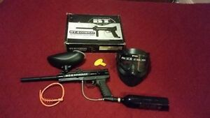 BT Combat Paintball Gun Package