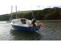19ft Sadler Seawytch for Sale. Bare boat ready to sail.