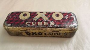 Antique OXO Cubes Tin Kingston Kingston Area image 1