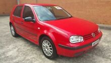 2002 Volkswagen Golf 4th Gen MY02 S Red 5 Speed Manual Hatchback Yagoona Bankstown Area Preview