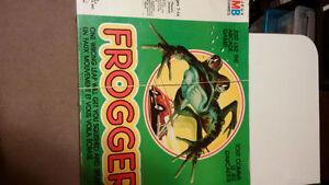 Vintage Frogger Board Game Complete MB Milton Bradley