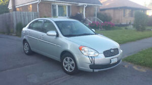 HYUNDAI ACCENT 2009 - SALE OR TRADE FOR A MOTORCYCLE