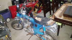 Wanted running or not Honda ct70 trail 70