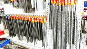 """SDS-PLUS and SDS-MAX Drill Bits (Different sizes 6"""" to 38"""" Long"""