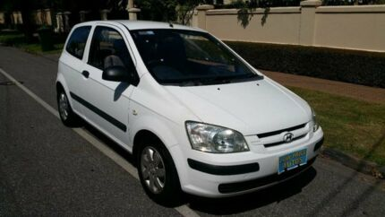 2002 Hyundai Getz TB GL White 5 Speed Manual Hatchback Nailsworth Prospect Area Preview