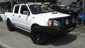 2008 Nissan Navara D22 MY08 ST-R (4x4) White 5 Speed Manual Dual Cab Pick-up Homebush Strathfield Area Preview