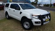 2015 Ford Ranger PX XL 2.2 (4x4) White 6 Speed Automatic Crew Cab Chassis Dapto Wollongong Area Preview