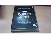 THE TWILIGHT ZONE COMPLETE SEASON ONE-DVD BOX SET OF 6 DVD'S.
